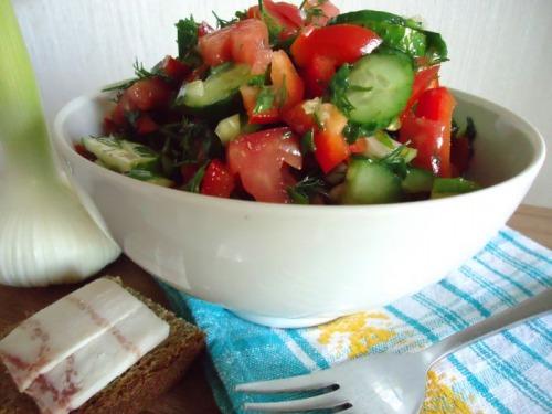 Салат из овощей рецепт с 61