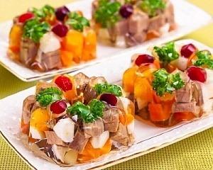 Заливное мясо с желатином