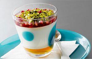 Фисташковый йогурт