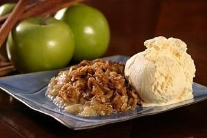 Яблучний крамбл