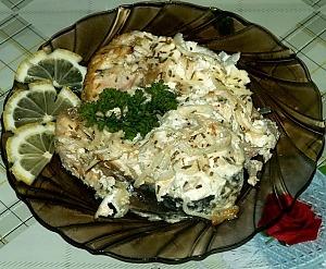 Пеленгас запеченный в духовке