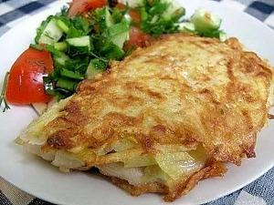 Филе тилапии в картофельной корочке