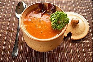 Тыквенный крем-суп с овощами