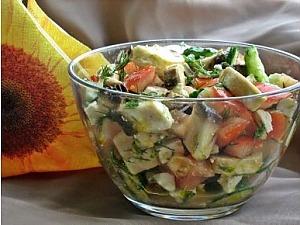 Болгарский шопский салат