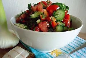 Салат из овощей на каждый день