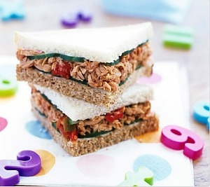 Сэндвичи с тунцом