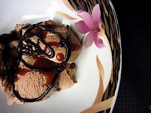 Бананово-шоколадное мороженое с Бейлиз