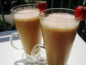 Холодный кофе с ванилью