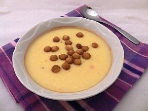 Тыквенный суп с кокосовым молоком