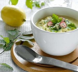 Греческий суп авголемоно