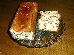 Кекс с изюмом из дрожжевого теста