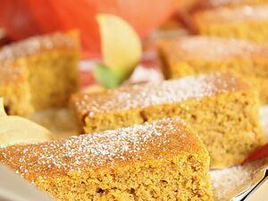 Пряный тыквенный пирог