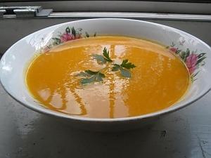 Морковный суп-пюре с апельсином