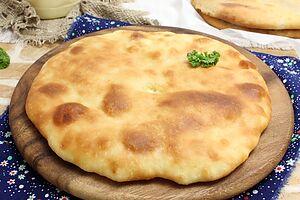 Осетинский пирог с сыром Уалибах