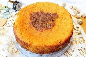 Морковный пирог с цедрой апельсина