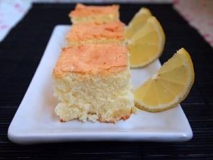 Бисквитный лимонный пирог