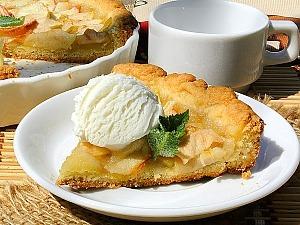 Яблочный тарт