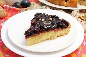 Сливовий пиріг-перевертиш
