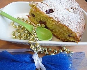 Яблочный пирог с вишней