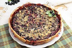 Смородиновый пирог-десерт