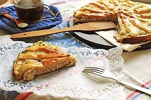 Пирог с курицей в соусе «Бешамель»