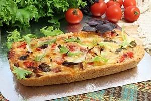 Открытый пирог с сыром