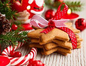 Имбирное печенье-звездочки