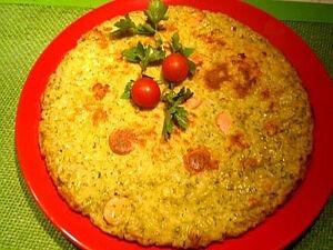Омлет с рисом