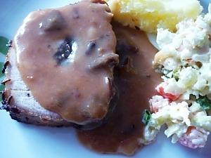 Сладкий соус с черносливом к мясу