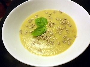 Крем-суп из брюссельской капусты