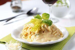 Сырный соус для макарон