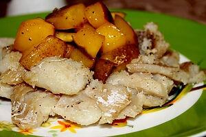 Филе минтая с манго
