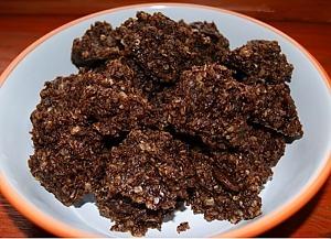 Овсяное печенье с орехами без выпечки