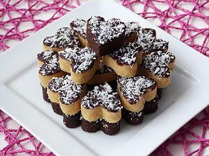 Кокосовое печенье без выпечки
