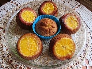 Апельсиновые маффины с медом