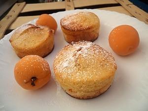Маффины на йогурте с абрикосами