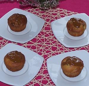 Маффины с яблоками и грецкими орехами
