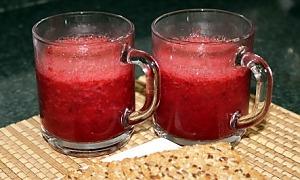 Смузи сливово-ягодный