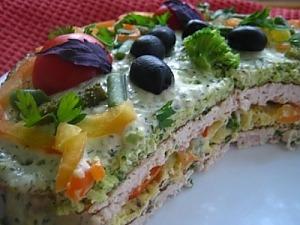 Торт закусочный «Без табу»