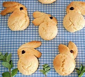 """Пасхальное печенье """"Кролики"""""""