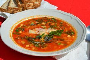 """Итальянский овощной суп """"Минестроне"""""""