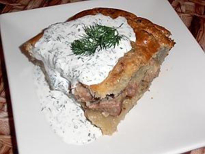 Бабка картофельная со свининой