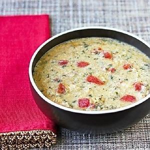 Чесночно-куриный суп