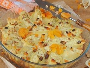 Запіканка з макаронів та сиру