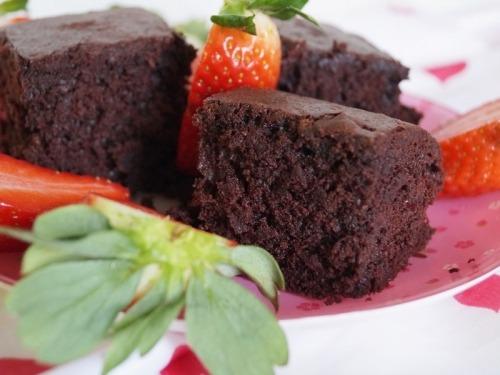 Шоколадный пирог со свеклой