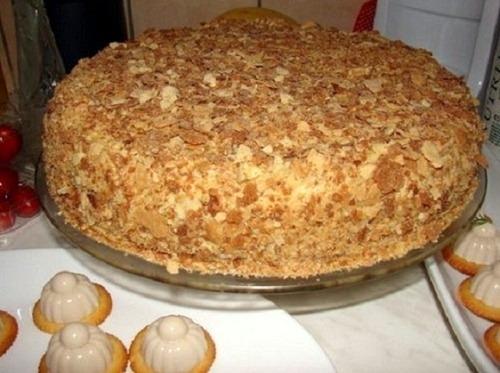 """Оригінальний торт """"Наполеон"""" (за 30 хвилин)"""