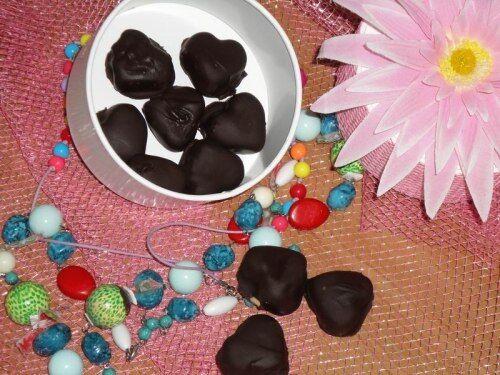 Шоколадные конфеты с ликерной начинкой