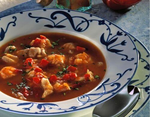 Рыбный суп с красным перцем