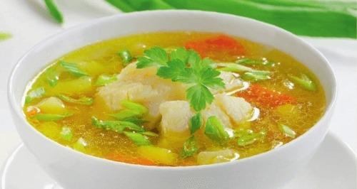 Рыбный суп из пеленгаса