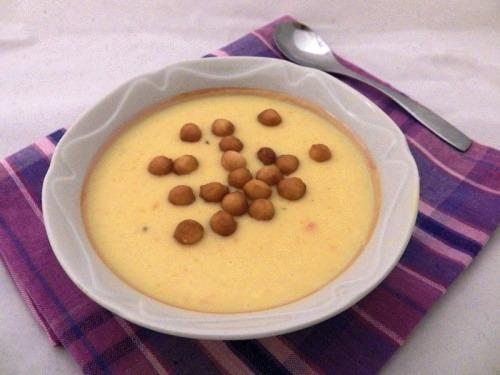 Гарбузовий суп з кокосовим молоком